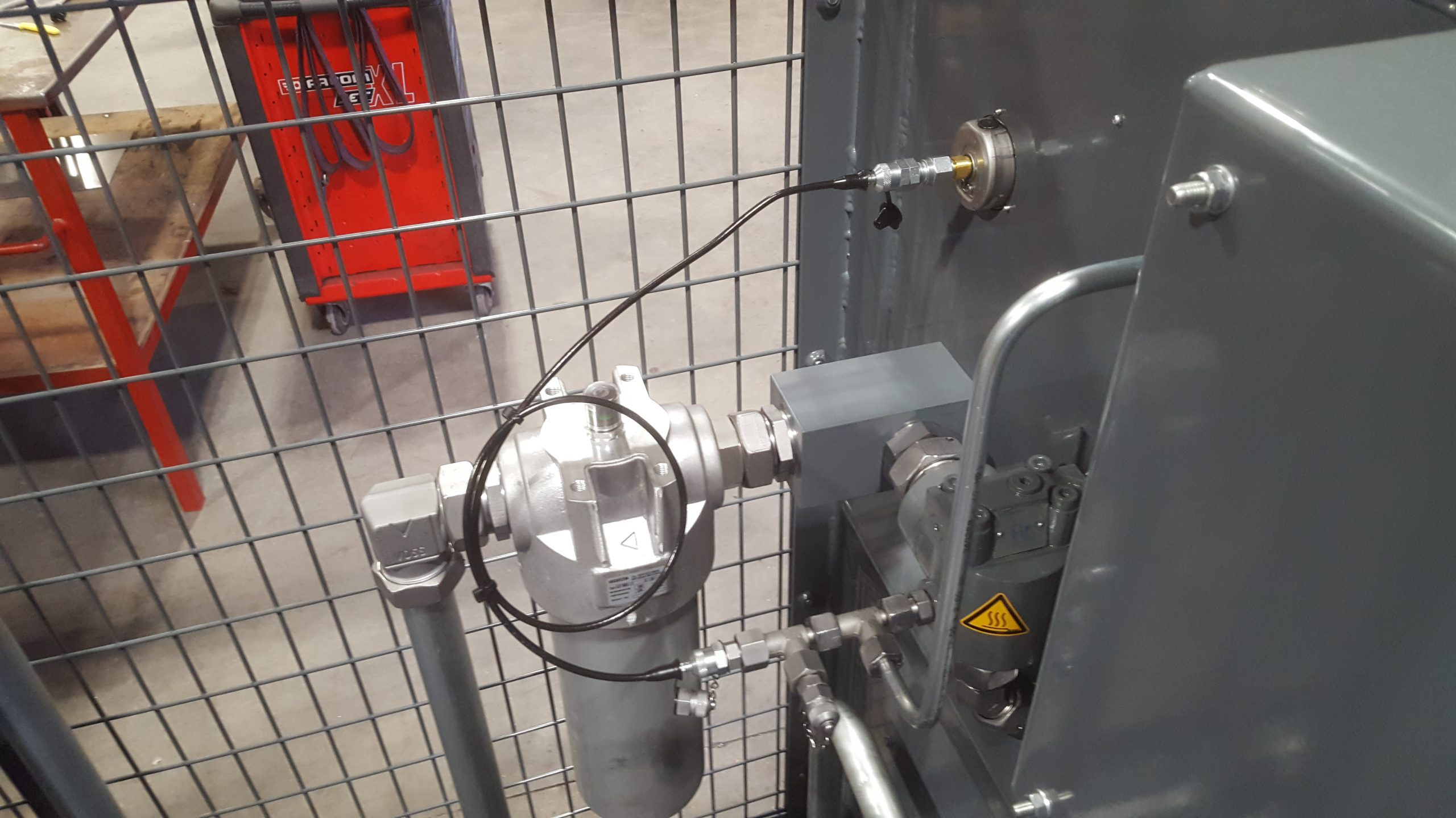 Skid dynamometer